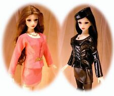 BJD Dollfie pattern SD 60cm Elfdoll & similar bodies; Jacket, skirt, pants