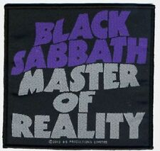 BLACK Sabbath Master of Reality Patch/ricamate 602323 #