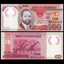 Mozambique 100 Meticai, 2011, P-151, Polymer, UNC