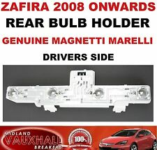 VAUXHALL ZAFIRA B BACK REAR LIGHT BULB HOLDER DRIVERS OFF SIDE SRI CDTI ECOFLEX