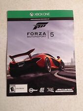 BRAND NEW XBOX ONE FORZA MOTORSPORTS 5 BY MICROSOFT GAME BUY IT NOW
