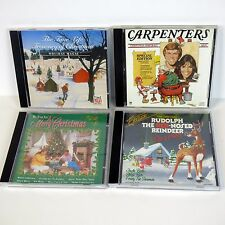 Lot 4 Xmas CD Time Life Treasury Of Christmas Holiday Magic Carpenters Rudolph