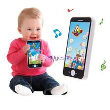 Kids Baby Simulator Music Cell Phone Touch Screen Educational Learning Toy NEW
