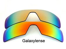 Galaxy Replacement Lenses For Oakley Oil Rig Red&Gold Polarized 2 Pairs