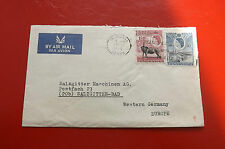 *Brief Beleg - Uganda nach Deutschland - Salzgitter AG  50-er Jahre (129)