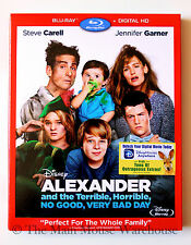 Alexander and the Terrible, Horrible, No Good, Very Bad Day Blu-ray Digital Copy