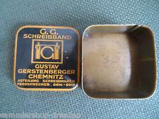 23268 Farbbanddose G:G. Farbband Chemnitz typewriter  tin Schreibmaschine