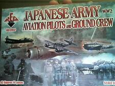 1/72 World War 2 WW2 Japanese Army Pilots & Ground Crew