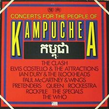 Concerts For The People Of Kampuchea: The Who, Pretenders, Queen (2 LPS 1981)