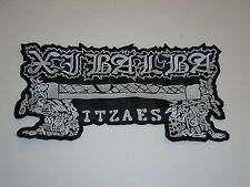 XIBALBA BLACK METAL EMBROIDERED BACK PATCH