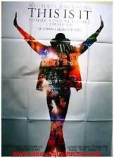 THIS IS IT Affiche Cinéma Originale 160x120 Movie Poster MICHAEL JACKSON
