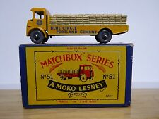 Matchbox Lesney No.51a Albion Chieftain Type 'B3' Series MOKO Box (GPW VERY GC!)