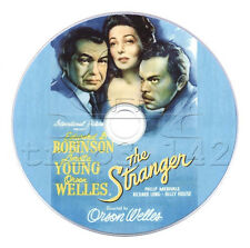 The Stranger (1946) Orson Welles, Edward G Robinson, Loretta Young Film Noir DVD
