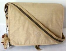 Kipling TM5354 HAYDAN CrossBody Messenger Bag w/Laptop Protection, Coffee Latte