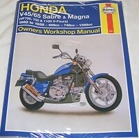 Haynes Workshop Manual HONDA VF V45 V65 VF700 VF750 & VF1100 1982-88 Sabre Magna