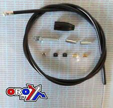NEW UNIVERSAL FITTING CLUTCH BRAKE CABLE REPLACEMENT REPAIR KIT MOTO MOTORCYCLE