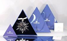 *NIB* 2011 LARGE SWAROVSKI CRYSTAL CHRISTMAS ORNAMENT STAR/SNOWFLAKE #1092037