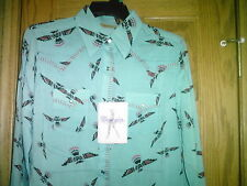 LADIES WESTERN SHIRT BY WRANGLER NEW WITH TAG SIZE X-LARGE LONG SLEEVES SNAPS