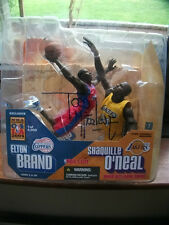 BRAND/O`NEAL 2003-04 MCFARLANE BASKETBALL NBA ALL-STAR GAME EXCLUSIVE SIGNED