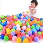 new 50pcs Kids Baby Colorful Soft Play Balls Toy for Ball Pit Swim Pit Ball Pool
