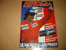 Auto hebdo N°492 Delta S4/Ford RS 200.Gp d'Europe