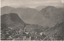 POSTCARD  CUMBRIA  Great Gable from  Scafell Pike