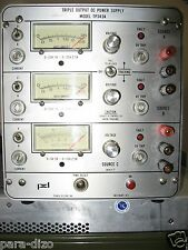 Lab Power Supply 3 Outputs 2x(0-25V, 2.5A), 0-15V, 2.5A Works Great! 200Wt pwr