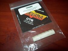 "NEW - Earvana Compensated 1-11/16"" Nut For Gibson Acoustic, Wound 3rd, CREAM"