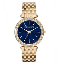 Michael Kors Watch * MK3406 Darci Blue Face Crystals Gold Steel Women COD PayPal