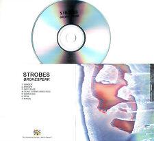 STROBES Brokespeak 2016 UK 7-trk promo test CD