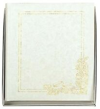 "Beautiful Satin Effect Traditional Wedding Photo Album - 12x10"" photos - Boxed"