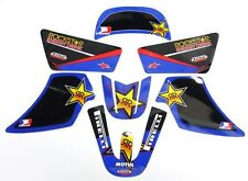 Yamaha PW 50 PW50 Y-Zinger Decals Stickers Graphics Kit - Rock Star 1981 - 2009