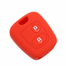1pcs Silicone Key Cover Case Holder Bag Fit For Peugeot 206 307 Accessories