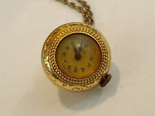 Vintage Mentor 15j Swiss Pendant Watch - 0663