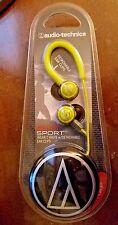 New Audio Technica Sonic Sport Cord Wrap 2 Way Ear Clips In Ear Headphones Hooks
