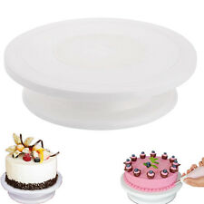 Cake Decorating Tools Rotating Cake Stand Sugar Craft Turntable Cupcake Plate