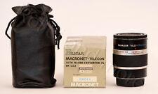 Panagor Macronet Telecon Auto Macro Converter 3x - 1,5:1 für Pentax K / PK