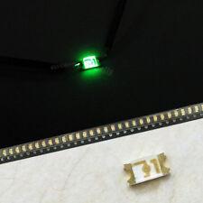 50x 1206 Vert Émeraude Super Brillant LED SMD SMT Lampe Ampoule Lumière Haut