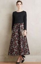 NWT Anthropologie Martel Brocade Garden Ball Skirt Size Small Petite