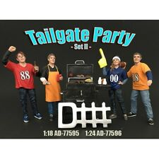1/24 scale -Tailgate Party Set II -  AMERICAN DIORAMA - figure/figurine