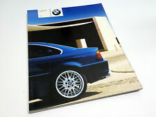 2003 BMW 3-Series 325Ci 330Ci Coupé E46 Brochure