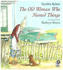 The Old Woman Who Named Things-ExLibrary