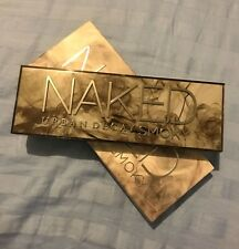Urban Decay Naked SMOKY Palette 12 Eyeshadows 1 Double Ended Brush $54 NIB