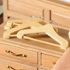 Dolls House Miniature: Pack of 4 Coathangers : 12th scale coat hangers