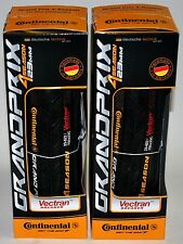 Continental Grand Prix 4 Season 700 x 23 all black 2 tires (1 pair)