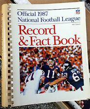 Official NFL Record & Fact Book National Football League Pick One! 1987 thru 96