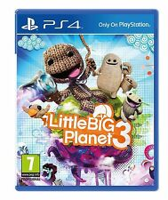 LITTLE BIG PLANET 3 - Playstation 4 PS4 - NEW & SEALED - UK RELEASE