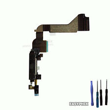 Charging Port Dock Connector Flex Cable with Microphone White for iPhone 4