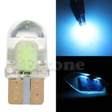 10x T10 194 168 W5W COB 8 SMD LED CANBUS Silica Ice blue License Light Bulb