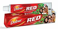 2 tubes of 200ml Dabur Red Toothpaste tooth paste for Teeth & Gums   tooth pain